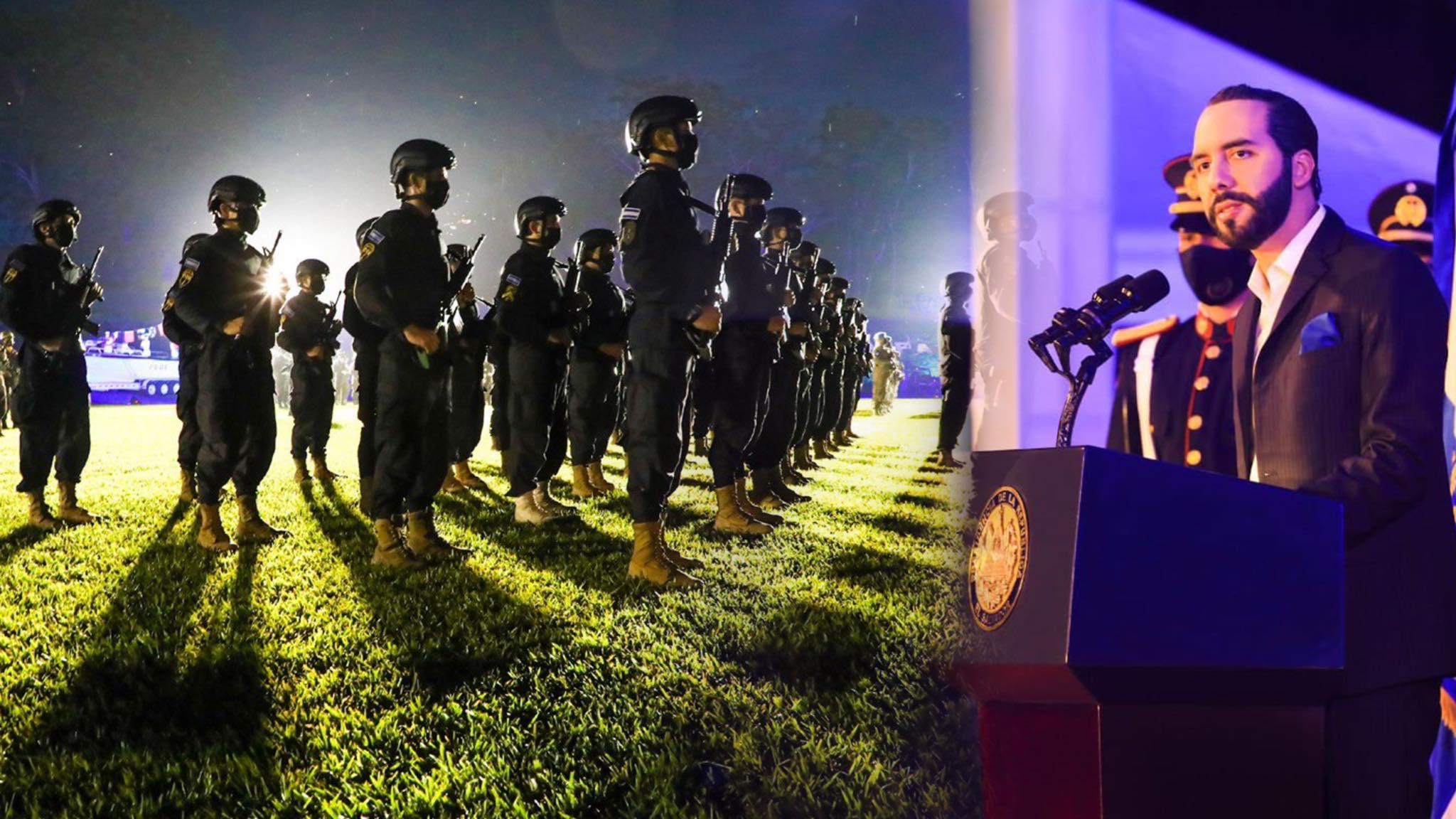 Presidente Bukele agradece a los soldados por salvaguardar y proteger la vida de todos los salvadoreños
