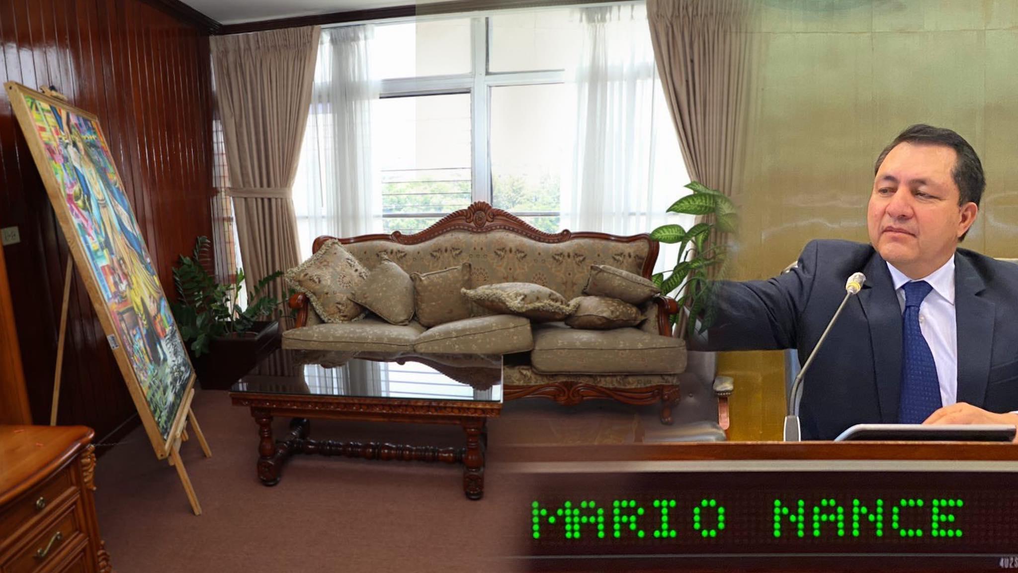 Diputados Cyan encontraron una suite privada de Mario Ponce en la parte de atrás de la Asamblea Legislativa